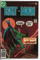 "DC Comics Batman #292 Oct. 1977 VF- ""Testimony of the Riddler!"""