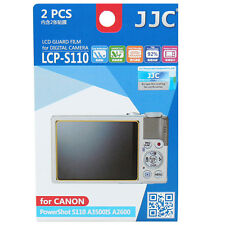 JJC LCP-S110 polycarbonate LCD Film Screen Protector For Canon S110 A3500 A2600