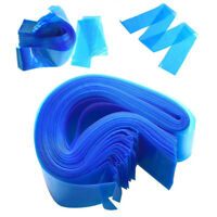 Pro Blue Disposable 100pcs Tattoo Machine Clip Cord Sleeves Cover Bags Supply