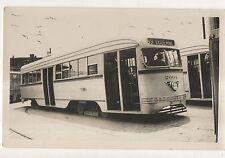 PRT PHILADELPHIA RAPID TRANSIT Streetcar Luzerne PA Original Photograph