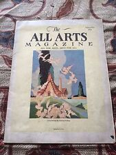 1925 All-Arts Magazine (Chicago, Illinois) Rare Vintage Art Chicago History -wow
