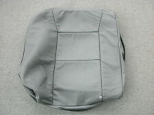 Saab 9-5 gray leather right rear seatback cover