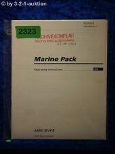 Sony Bedienungsanleitung MPK DVF4 Marine Pack (#2323)