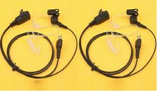 PAIR HEADSETS EARPIECE FOR MIDLAND AVP-H3 RADIO GXT1000 1050 740 785 760 795
