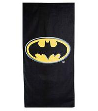 Batman Emblem Logo Beach Towel 100% Cotton