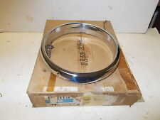 Mopar NOS H/Lamp Bezel (Chrome) Rt. 68-69 Dodge Trucks D-W 100---800