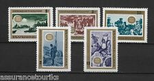 BULGARIE - 1968 YT 1571 à 1575 - TIMBRES NEUFS** LUXE