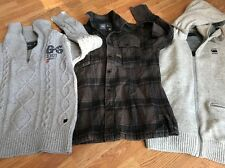 G-Star Raw Mens Job Lot 3x Items Jacket Jumper