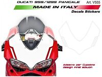 Kit adesivi per cupolino Ducati 959 1299 Panigale design final edition
