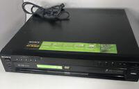 Sony DVP-NC665P 5-Disc Precision Cinema Progressive DVD/CD Changer - NO REMOTE
