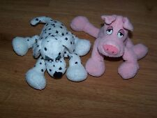 It's All Greek to Me Plush Dog and Pig