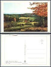 NORWAY Postcard - Baerum near Oslo, Autumn AZ