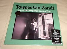 Live at the Old Quarter by Townes Van Zandt (Vinyl LP, Sealed, Clear Colored)