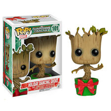 Funko POP Guardians of the Galaxy Dancing Groot Bobble Vinyl Figure Toys Gift SD