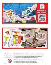 Komplettsatz Finger Games Einrad FF544A-B mit allen 2 BPZ Südamerika 2015