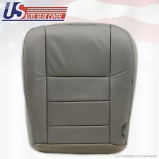 2002 to 2007 Ford F250 F350 Lariat Bottom Replacement Seat Cover Gray All Vinyl