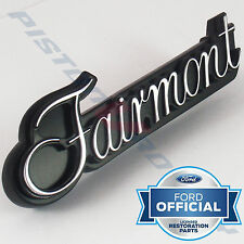 FAIRMONT Grille Badge & BACKING PLATE , NEW , for XB Ford 351 GS GT Grill
