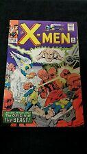 1965 Marvel Comic X-Men #15 Spine Split 1St App Mastermold Origin Of Beast Key