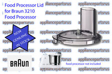 Braun 3210 Food Processor Lid Part BR67000545 7000545 NEW - GENUINE - IN STOCK