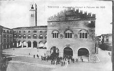 POSTCARD  ITALY    TREVISO    Piazza  dei  Signori