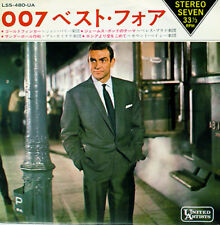 "JOHN BARRY ""Best 4 Themes for 007"" orig 1960's Japan ONLY EP w/ps BOND CONNERY"