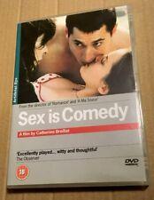 Sex Is Comedy DVD Catherine Breillat French Movie Film UK Region 2 Fast Postage!