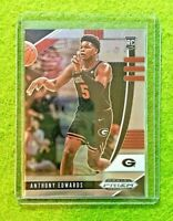 ANTHONY EDWARDS PRIZM ROOKIE CARD JERSEY #5 GEORGIA RC TIMBERWOLVES  2020 Panini