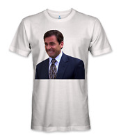 Michael scott the office tv show crying t-shirt