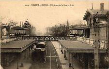 CPA Nogent sur Marne - L'Interieur de la Gare (275445)