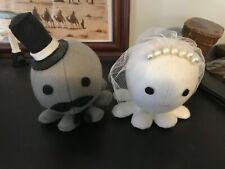 Octopus Bride & Groom Wedding Cake Topper Figurine Dolls