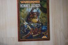 Warhammer-OOP-Warhammer Book Hommes Lizards cover Slann (edges red)
