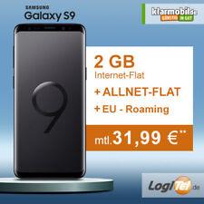 Samsung Galaxy S9 Handy mit klarmobil Vertrag 2GB Allnet Flat inkl. 31,99€ mtl.