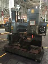 """4' X 11"""" Giddings & Lewis Radial Arm Drill: Yoder #66345"""