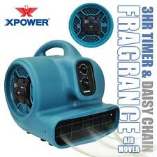 XPOWER P-450AT Freshen Aire Scented Air Mover Floor Fan Carpet Dryer Freshener