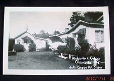 Alexanders Cabins, Oceanlake, Oregon - 1950s Postcard