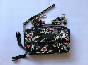 Vera Bradley All In One Crossbody New With Tag Winter Palace Retired Color