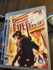 Tom Clancy's Rainbow Six Vegas PS3 game+ case no manual playstation 3 excellent