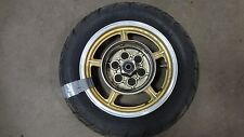 1986 Yamaha Virago XV1100 XV 1100 Y354' gold rear wheel rim 15in