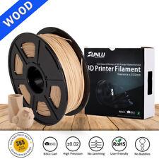 SUNLU 3D Printer Wood Filament 1.75mm 1KG/Roll 2.2LB Wooden Effects Similar With