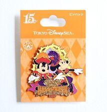 New listing Disney Tokyo Disney Sea 15th Halloween Pin 2016 Mickey Minnie