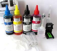 400 ml kit inchiostro compatibile per ricarica cartucce canon pg 40 nere cl 41 c