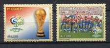 s7603) PARAGUAY 2002 MNH** World Cup Football'02 - CM Calcio 2v.