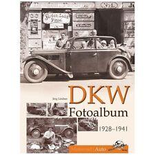 DKW Fotoalbum 1928-1942 Auto Oldtimer Modelle P15 F1 Bilder Typen Fotos Buch