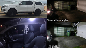 NISSAN NAVARA NP300-2015+ DUAL CAB INTERIOR LED & REVERSE LED LIGHTS UPGRADE