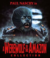 Werewolf In The Amazon Collection DVD 3 disc set Paul Naschy 7 films Ivan Cardos