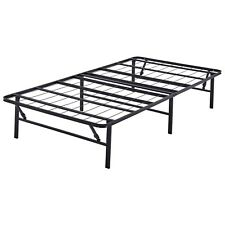 Platform Twin XL Size Bed Frame Metal Steel 14 Inch Home Bed Mattress Foundation