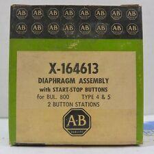 ALLEN BRADLEY X-164613 Start Stop DIAPHRAGM ASSEMBLY NIB