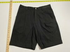 Tommy Bahama Silk Cotton Shorts - Pleated - 30 - Charcoal