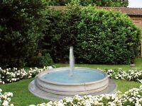 Brunnen Springbrunnen Beckenbrunnen Freistehend Fontaine Gartendeko Art.2358/AN