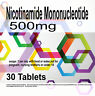 NMN Nicotinamide Mononucleotide 500Mg Pure NAD Supplement x 30 Tablets